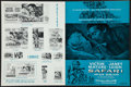 """Movie Posters:Adventure, Safari & Others Lot (Columbia, 1956). Uncut Pressbooks (2)(Multiple Pages, 12"""" X 16"""" ) & Lobby Card (11"""" X 14"""").Adventure.... (Total: 3 Items)"""