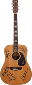 Music Memorabilia:Autographs and Signed Items, Bruce Springsteen and E Street Band-Signed Guitar. ...