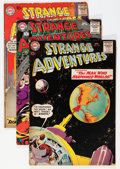 Silver Age (1956-1969):Science Fiction, Strange Adventures Group (DC, 1959-64) Condition: Average VG.... (Total: 25 Comic Books)