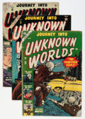 Golden Age (1938-1955):Horror, Journey Into Unknown Worlds Group (Atlas, 1952-55).... (Total: 8Comic Books)