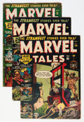 Golden Age (1938-1955):Horror, Marvel Tales Group (Atlas, 1952-53).... (Total: 4 Comic Books)
