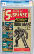 Silver Age (1956-1969):Superhero, Tales of Suspense #39 (Marvel, 1963) CGC VF- 7.5 Off-white pages....