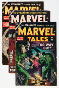 Golden Age (1938-1955):Horror, Marvel Tales Group (Atlas, 1954-55) Condition: Average VG....(Total: 7 Comic Books)