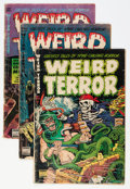 Golden Age (1938-1955):Horror, Weird Terror #2 and 5-7 Group (Comic Media, 1952-53) Condition:Average GD/VG.... (Total: 4 Comic Books)
