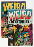 Golden Age (1938-1955):Horror, Weird Mysteries #8 and 9 Group (Gillmor, 1954).... (Total: 2 ComicBooks)