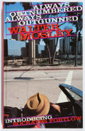 Books:Mystery & Detective Fiction, Walter Mosley. SIGNED. Always Outnumbered, Always Outgunned.Serpent's Tail, 1997. First British edition, first ...