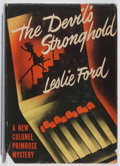 Books:Mystery & Detective Fiction, Leslie Ford. The Devil's Stronghold. Scribners, 1948. Firstedition, first printing. Leaning. Toning and light w...