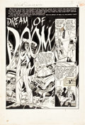 "Original Comic Art:Complete Story, Wally Wood and Harry Harrison Weird Science #12 (#1)Complete 7-page Story ""Dream of Doom"" Original Art (EC, 1950)..."
