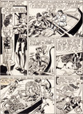 Original Comic Art:Panel Pages, H. G. Peter Wonder Woman #28 Page 16 Original Art (DC,1946)....