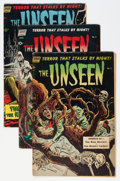 Golden Age (1938-1955):Horror, The Unseen #5-9 Group (Standard, 1952-53).... (Total: 5 ComicBooks)