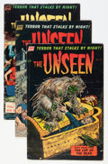 Golden Age (1938-1955):Horror, The Unseen #10-14 Group (Standard, 1953-54) Condition: AverageVG.... (Total: 5 Comic Books)