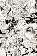 Original Comic Art:Panel Pages, Gil Kane and Wally Wood Teen Titans #19 Page 16 Original Art(DC, 1969)....