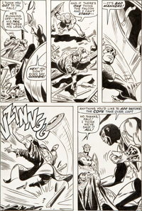 Gene Colan and Dick Ayers Captain America #134 Page 19 Original Art (Marvel, 1971)