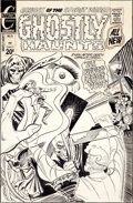 Original Comic Art:Covers, Steve Ditko Ghostly Haunts #25 Cover Original Art (Charlton,1972)....
