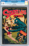 Golden Age (1938-1955):Science Fiction, Startling Comics #45 (Better Publications, 1947) CGC FN/VF 7.0White pages....