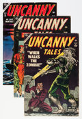 Golden Age (1938-1955):Horror, Uncanny Tales #21-25 and 28 Group (Atlas, 1954-55) Condition:Average VG.... (Total: 6 Comic Books)