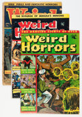 Golden Age (1938-1955):Horror, Weird Horrors Group (St. John, 1952-53).... (Total: 5 Comic Books)