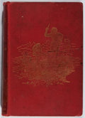 Books:Literature Pre-1900, Andrew Lang [editor]. The Red Fairy Book. Longmans, Green,1893. Fourth edition. Foxing. Half-title with tape. Traci...