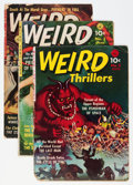 Golden Age (1938-1955):Horror, Weird Thrillers #2, 3, and 5 Group (Ziff-Davis, 1952-53)....(Total: 3 Comic Books)