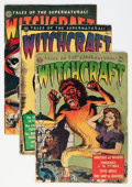 Golden Age (1938-1955):Horror, Witchcraft Group (Avon, 1952-53).... (Total: 4 Comic Books)