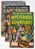 Golden Age (1938-1955):Horror, Mysterious Adventures #21-25 Group (Story Comics, 1953-55)....(Total: 5 Comic Books)