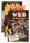 Golden Age (1938-1955):Horror, Web of Mystery Group (Ace, 1951-52).... (Total: 7 Comic Books)