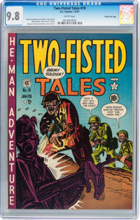 Two-Fisted Tales #19 Gaines File pedigree 2/10 (EC, 1951) CGC NM/MT 9.8 White pages
