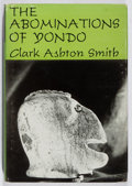 Books:Horror & Supernatural, Clark Ashton Smith. The Abominations of Yondo. Arkham House,1960. First edition, first printing. Minor toning a...