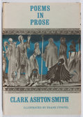 Books:Horror & Supernatural, Clark Ashton Smith. Poems in Prose. Arkham House, 1964.First edition, first printing. Toning and bio-predation. Ver...