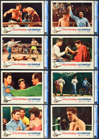 "Kid Galahad (United Artists, 1962). CGC Graded Lobby Card Set of 8 (11"" X 14""). ... (Total: 8 Items)"