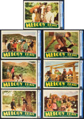 "Movie Posters:Western, Melody Trail (Republic, 1935). CGC Graded Lobby Cards (7) (11"" X 14"").. ... (Total: 8 Items)"