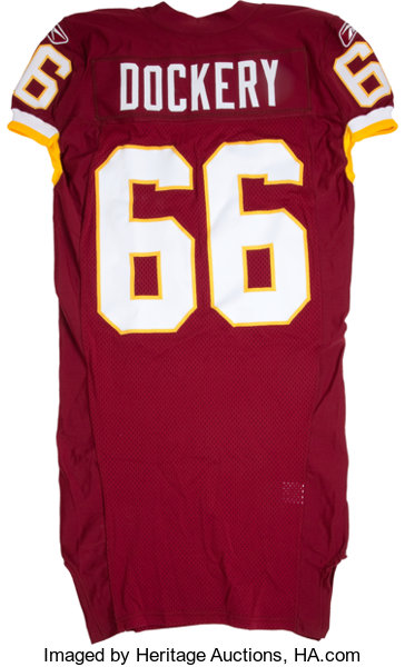 c0e6e187f 2007-10 Washington Redskins Game Issued and Practice Worn