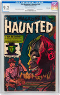 Golden Age (1938-1955):Horror, This Magazine Is Haunted #10 Crowley Copy pedigree (FawcettPublications, 1953) CGC NM- 9.2 Cream to off-white pages....