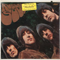 Music Memorabilia:Recordings, Beatles Rubber Soul Sealed Mono LP w/ Sticker (Capitol 2442,1965)....
