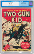 Golden Age (1938-1955):Western, Two-Gun Kid #1 Mile High pedigree (Marvel, 1948) CGC NM- 9.2Off-white pages....