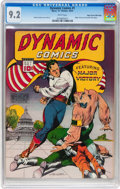 Golden Age (1938-1955):Adventure, Dynamic Comics #1 Mile High pedigree (Chesler, 1941) CGC NM- 9.2 White pages....