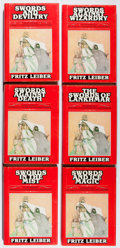 Books:Science Fiction & Fantasy, Fritz Leiber. The Saga of Fafhrd and the Gray Mouser. Vol.I-VI. Gregg, 1977. First Gregg edition, first printin... (Total: 6Items)