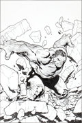 Original Comic Art:Covers, Steve McNiven and Dexter Vines Marvel Comics Presents #9Hulk Cover Original Art (Marvel, 2008)....