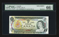 Canadian Currency: , BC-46aS $1 1973 Specimen. ...