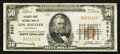 National Bank Notes:California, Los Angeles, CA - $50 1929 Ty. 1 Security-First NB Ch. # 2491. ...