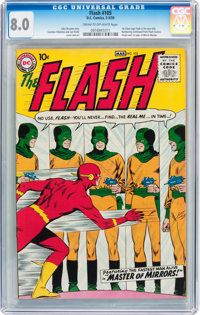 The Flash #105 (DC, 1959) CGC VF 8.0 Cream to off-white pages