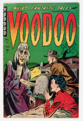 Golden Age (1938-1955):Horror, Voodoo #1 (Farrell, 1952) Condition: GD/VG....