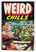Golden Age (1938-1955):Horror, Weird Chills #3 (Key Publications, 1954) Condition: VG-....