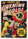 Golden Age (1938-1955):Science Fiction, Journey Into Unknown Worlds #37 (#2) (Atlas, 1950) Condition:GD/VG....