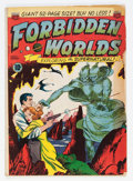 Golden Age (1938-1955):Science Fiction, Forbidden Worlds #1 (ACG, 1951) Condition: GD+....