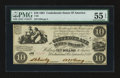 Confederate Notes:1861 Issues, T28 $10 1861 PF-1 Cr. 230.. ...