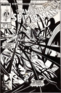 Original Comic Art:Covers, Todd McFarlane Amazing Spider-Man #317 Venom Cover OriginalArt (Marvel, 1989)....