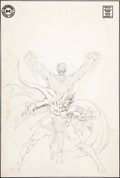 Original Comic Art:Panel Pages, Neal Adams Batman #226 Alternative Cover Pencils OriginalArt (DC, 1970)....