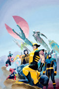 Original Comic Art:Covers, Esad Ribic House of M #1 Cover original Art (Marvel, 2005)....