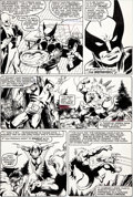Original Comic Art:Panel Pages, John Byrne and Terry Austin X-Men #139 Wolverine First Appearance Reprise Page 25 Original Art (Marvel, 1980)....